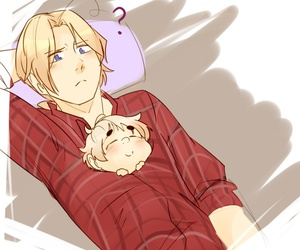 hetalia, 2p hetalia, and cute image