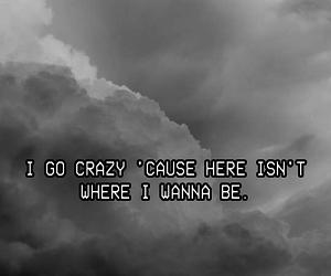 black & white, dark, and grunge image