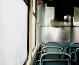 bus, vintage, and photography image