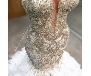 Couture, detail, and wedding dress image