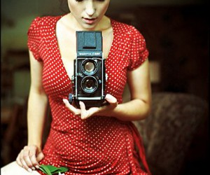 dress, photography, and womam image