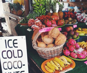 fruit, tropical, and summer image