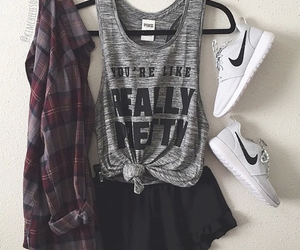 outfit, fashion, and nike image