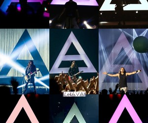 30 seconds to mars, jared leto, and triad image