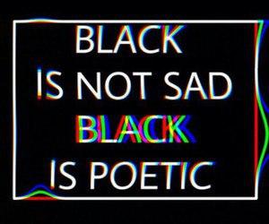 black, poetic, and grunge image