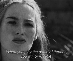 game of thrones and quote image