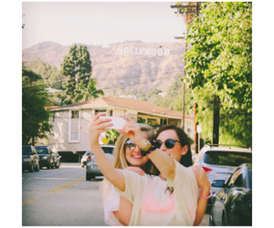 hollywood, hollywood sign, and vidcon image