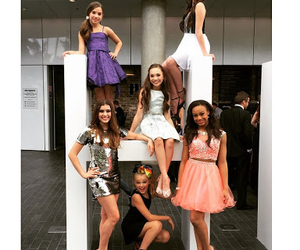 dance moms, maddie ziegler, and kendall vertes image
