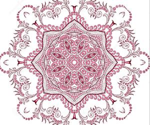 beautiful, flower, and henna image