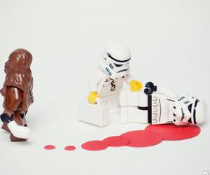 lego, star wars, and chewbacca image