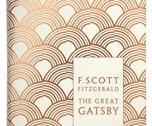 book, f. scott fitzgerald, and the great gatsby image