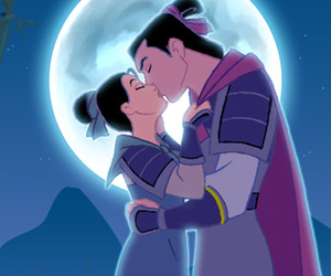 mulan, disney, and love image