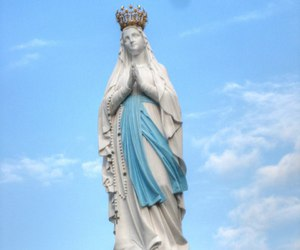 graces, lourdes, and blessings image
