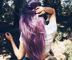 cool, purple, and style image