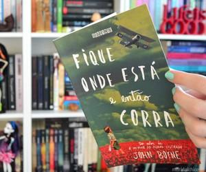 book, fique onde esta, and guerra image