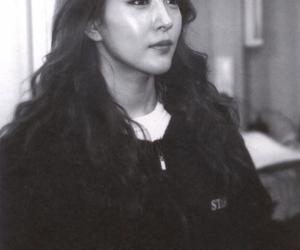 black and white, boa, and korean image
