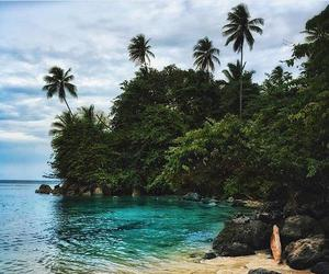 Caribbean, summer, and Island image