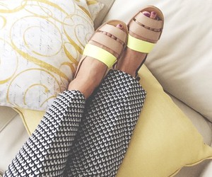 colourful, fashion, and sandals image
