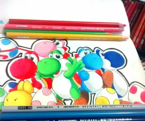 colors, yoshi, and colores  image