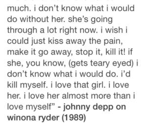 grunge, johnny depp, and true love image