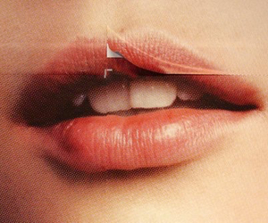 lips, indie, and mouth image