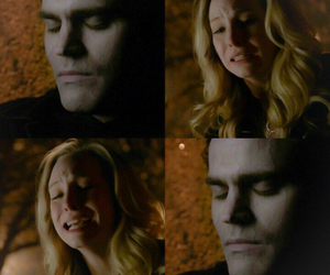 cry, sad, and stefan salvatore image