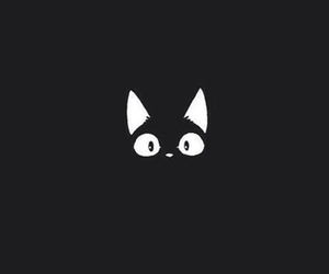 black, wallpapers iphone, and cat image