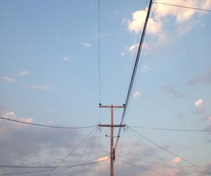 blue, dark, and dusk image