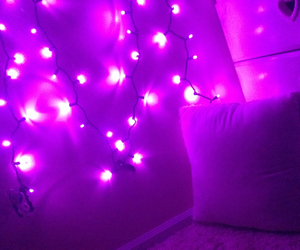 purple and room image