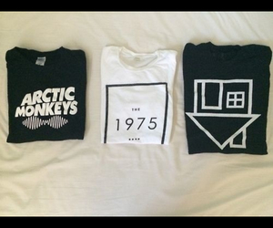 arctic monkeys, the 1975, and bands image
