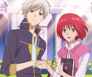 anime and shirayuki image