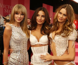 Taylor Swift, Victoria's Secret, and Behati Prinsloo image