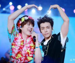 donghae, flowers, and super junior image