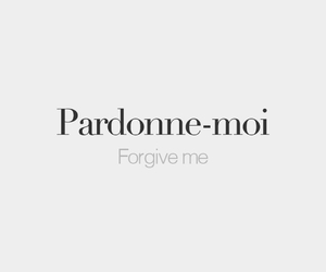 forgive, francais, and french image