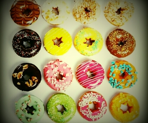 donuts, pretty, and vintage image