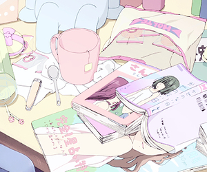 anime, kawaii, and pastel image