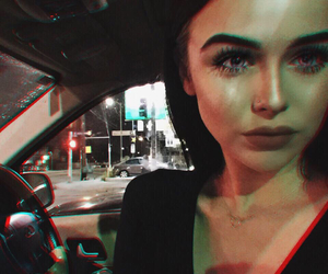 acacia brinley, acacia, and makeup image