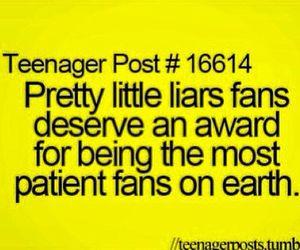 pll, pretty little liars, and fan image