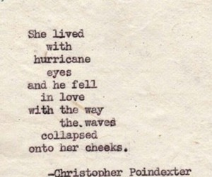 hurricane, christopher poindexter, and love image