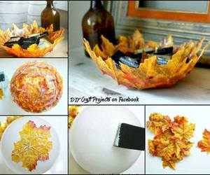 diy, ideas, and fall image