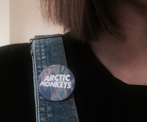 music, pins, and arctic monkeys image