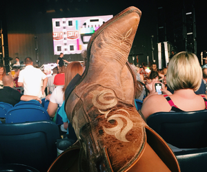 boots, concert, and summer image