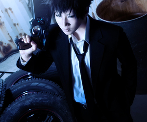 cool cosplayer, best anime cosplayer, and shinya kogami cosplayer image