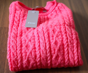 pink, fashion, and sweater image