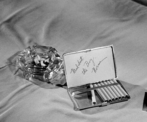 ashtray, cigarettes, and smoking image