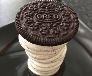 oreo, food, and cookie image