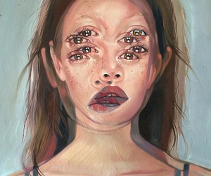 arts, beautiful, and lips image