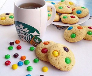 starbucks, Cookies, and food image