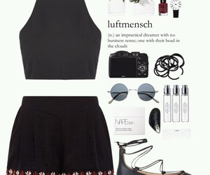 black, Polyvore, and my set image