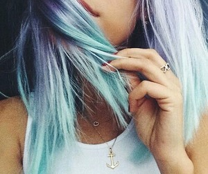 amazing, blue hair, and goals image